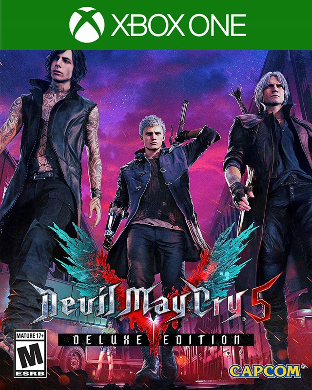 Devil May Cry 5 Deluxe (user №1) / XBOX ONE / ACCOUNT