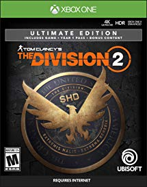 Tom Clancy's The Division 2 Ultimate/ XBOX ONE /ACCOUNT 2019