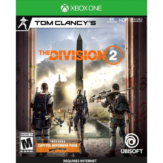 Tom Clancy's The Division 2 | XBOX ONE |RENT FOR A WEEK 2019