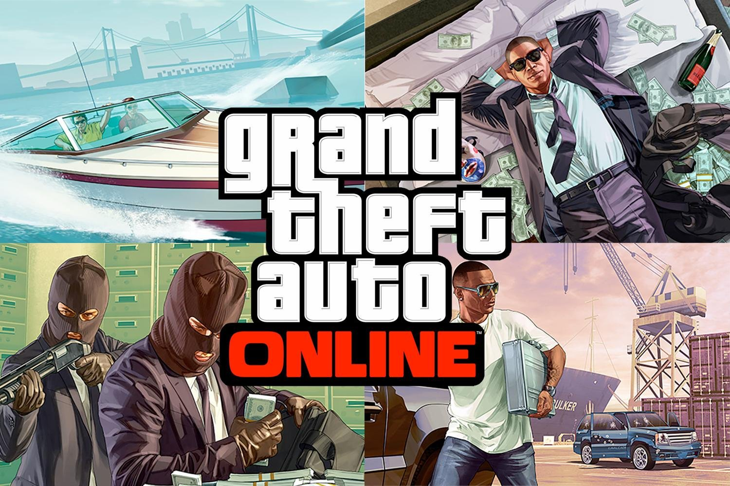Grand Theft Auto V/ GTA 5 PC [Online + Warranty]