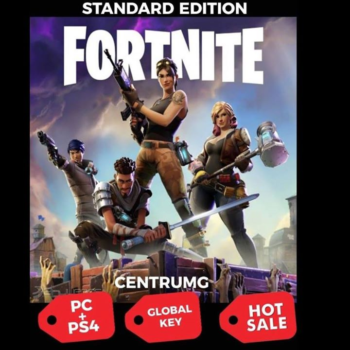 FORTNITE Standard Edition PC and PS4 [REGION FREE] Key