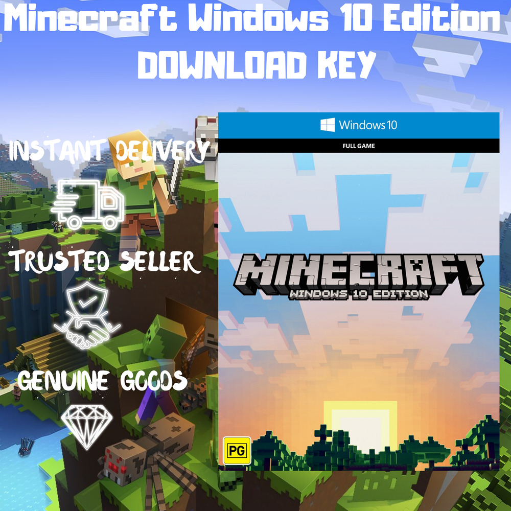✔️MINECRAFT WINDOWS 10 EDITION | CASHBACK 🎁