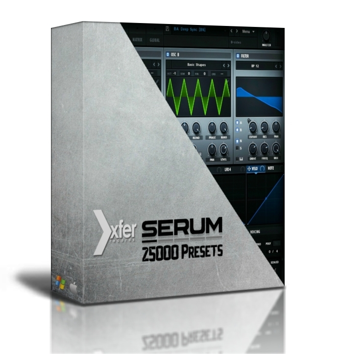 Xfer Serum Presets Pack 25000 Presets Collection