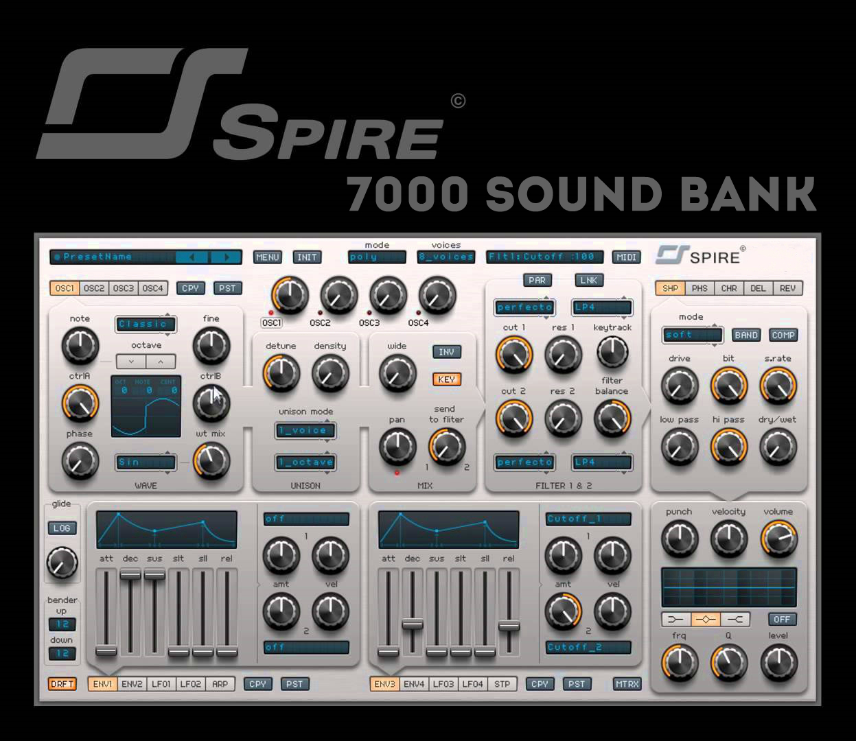 SPIRE VST 7000 Sound Bank