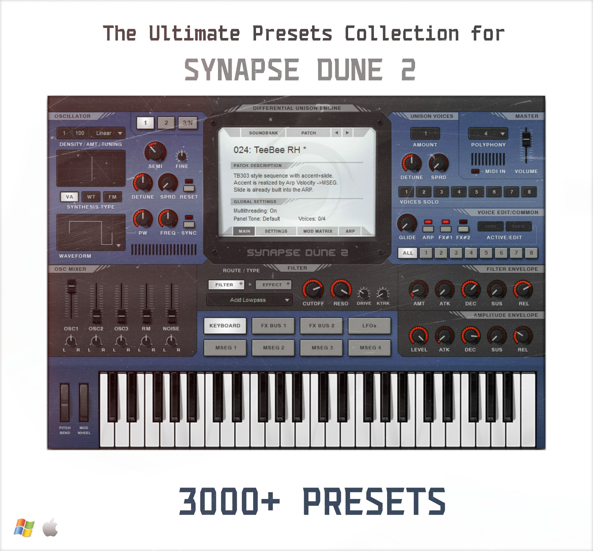 Dune 2 Presets Collection