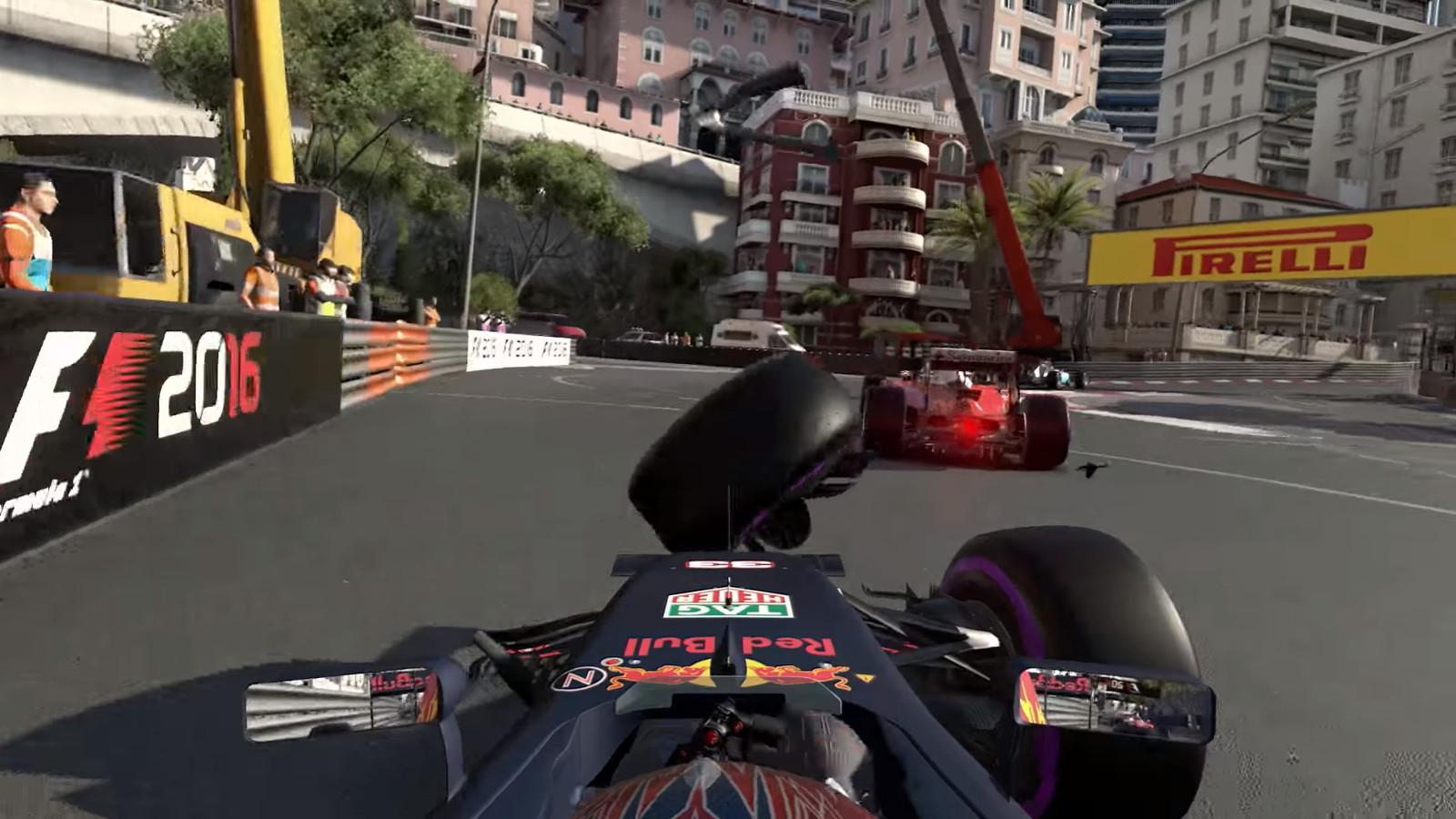 Скриншот  3 - F1 2016 + Career Booster DLC steam key RUCIS