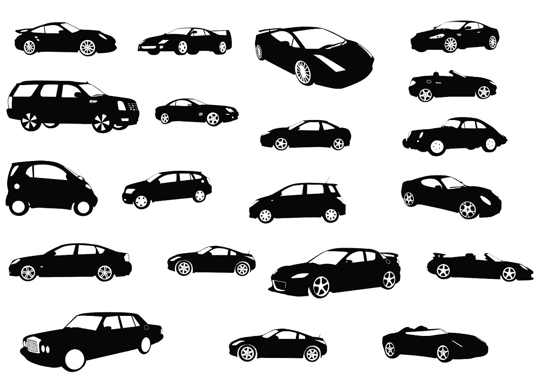 Cars svg,cut files,silhouette clipart,vinyl files,vecto