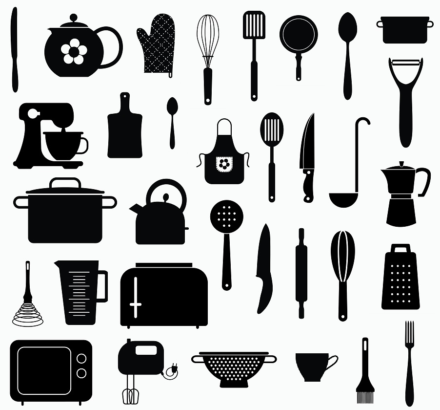 Kitchen svg,cut files,silhouette clipart,vinyl files,ve