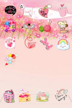 IPhone theme for girls
