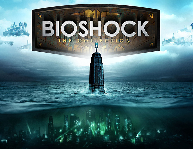 bioshock: the collection (steam) + podarok + skidki 357 rur