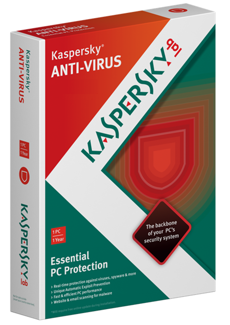 Kaspersky Anti-Virus (2013) EXTENSION 2 PC for 1 year