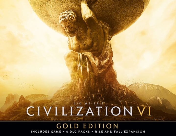 CIVILIZATION VI GOLD (STEAM) IN STOCK + GIFT