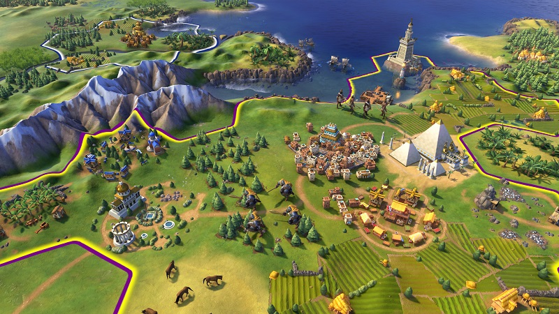 CIVILIZATION VI PLATINUM EDITION (STEAM) IN STOCK