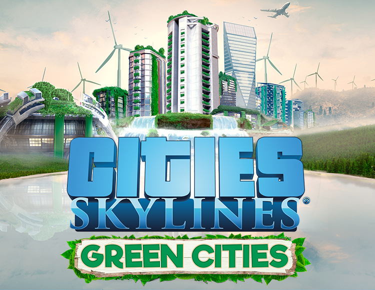 Cities: Skylines - Green Cities (Steam) + Gift
