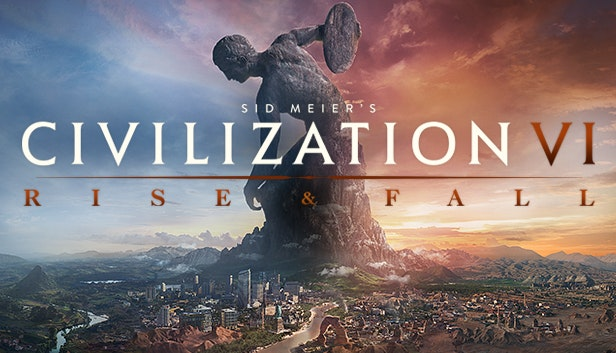 CIVILIZATION 6 VI RISE AND FALL DLC (STEAM)