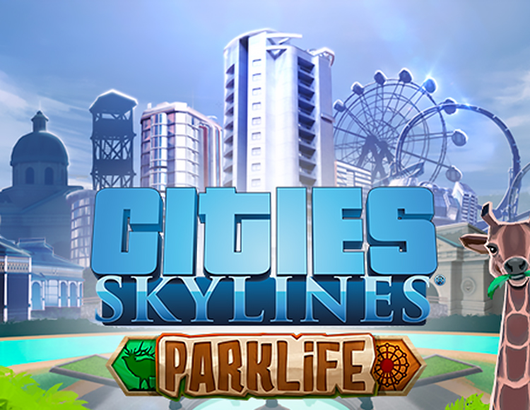 Cities: Skylines - Parklife (Steam) + Gift