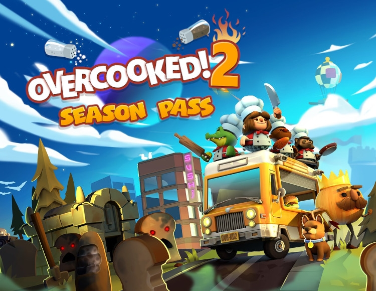 OVERCOOKED! 2 SEASON PASS (STEAM) INSTANTLY + GIFT