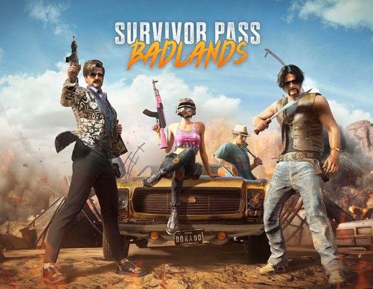 PUBG Survivor Pass 5: Badlands (STEAM) REGION FREE