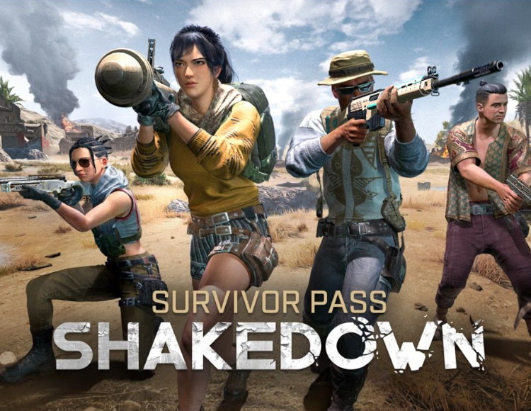 PUBG SURVIVOR PASS: SHAKEDOWN DLC SEASON 6 (STEAM)