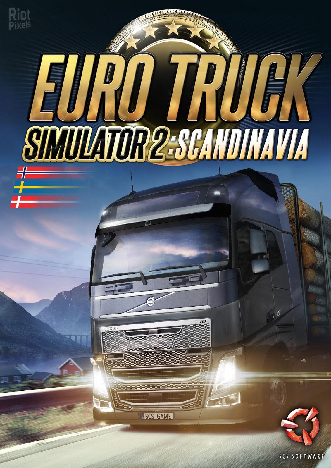 Фотография euro truck simulator 2 scandinavia (steam) + подарок