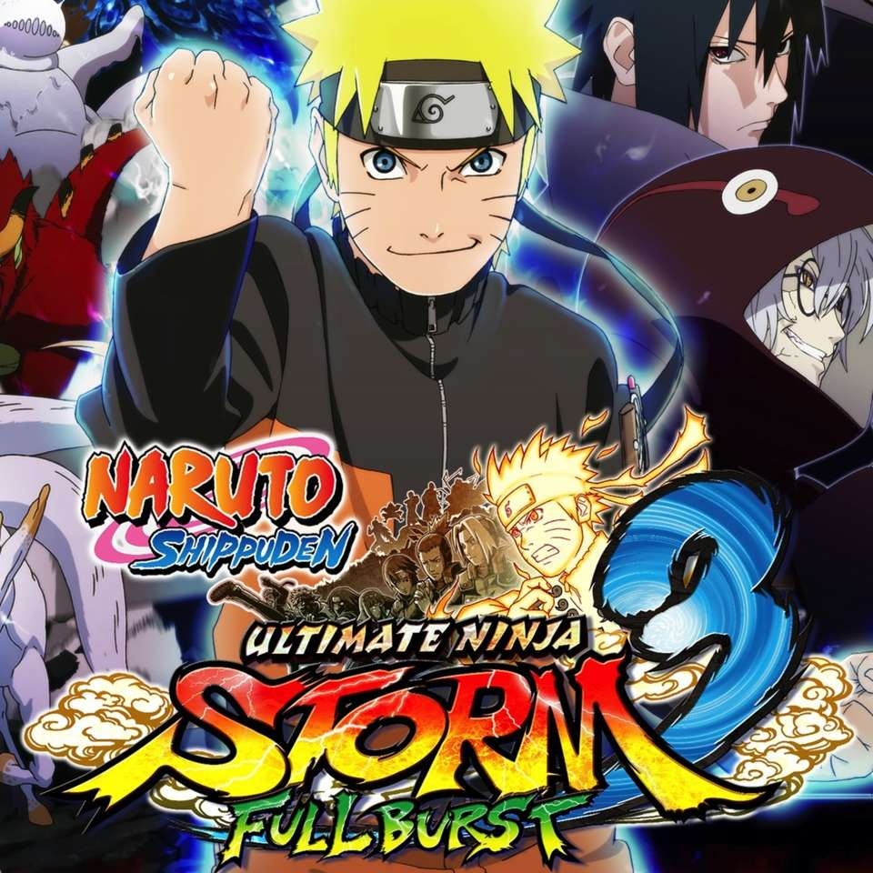 Naruto Shippuden: Ultimate Ninja 3 Full Burst + ПОДАРОК