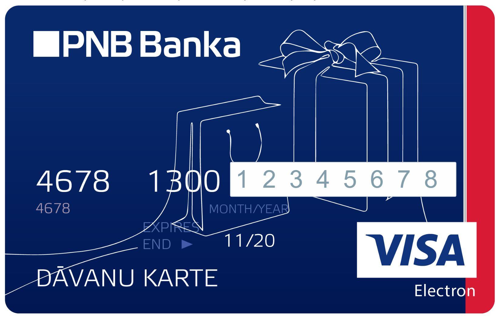 10 EUR EU BANK VISA ELECTRON PREPAID GIFTCARD