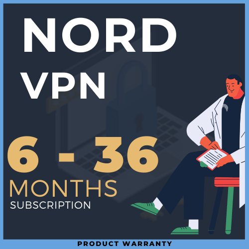 NordVPN from 6 to 36 months (random) l GUARANTEE 🎁
