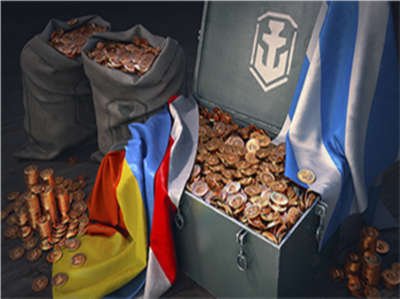 World of Warships 10.000 Gold -12.5% of the price