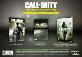 Battlefield ™ 1 + Call Of Duty®: Infinite Warfare RENTA