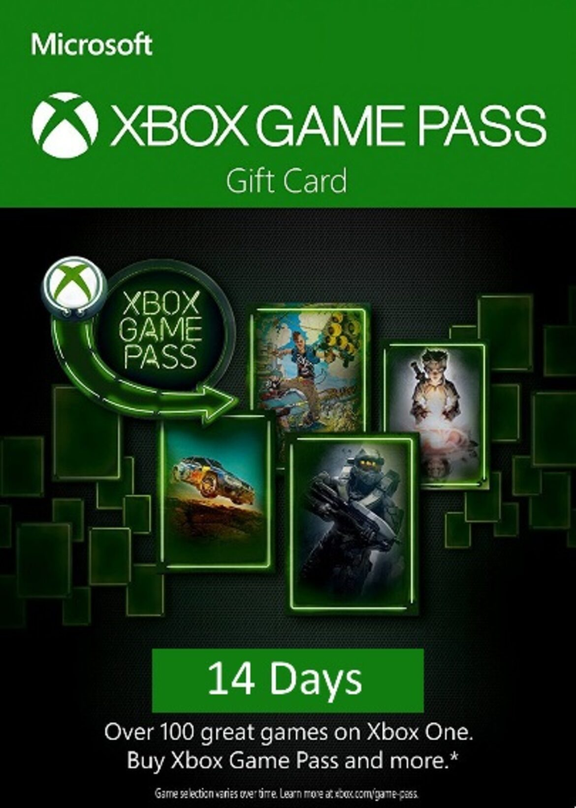 Xbox Game Pass 14 days Xbox One (SCAN Code)GLOBAL Key