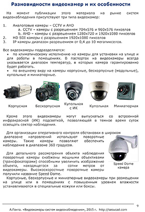 """Video cameras, surveillance systems"""