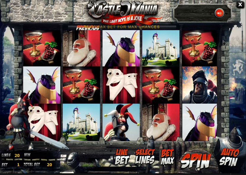 BetSoft Gaming Castle game for the casino + source cod