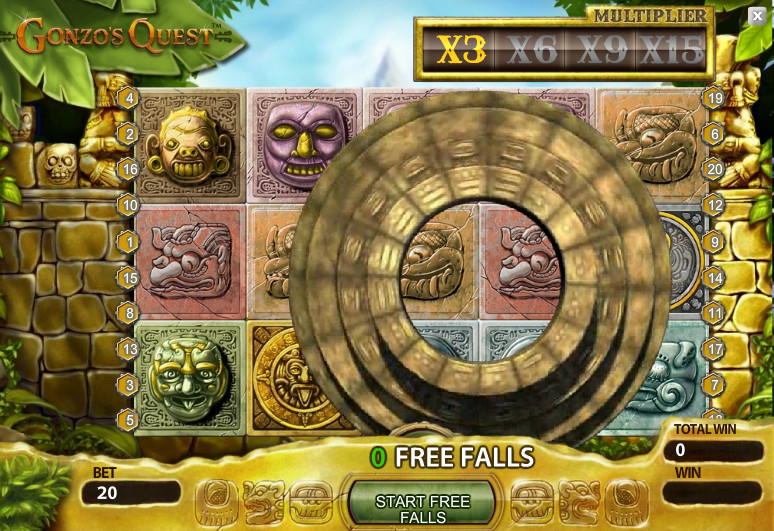 Gonzo´s Quest game for casino