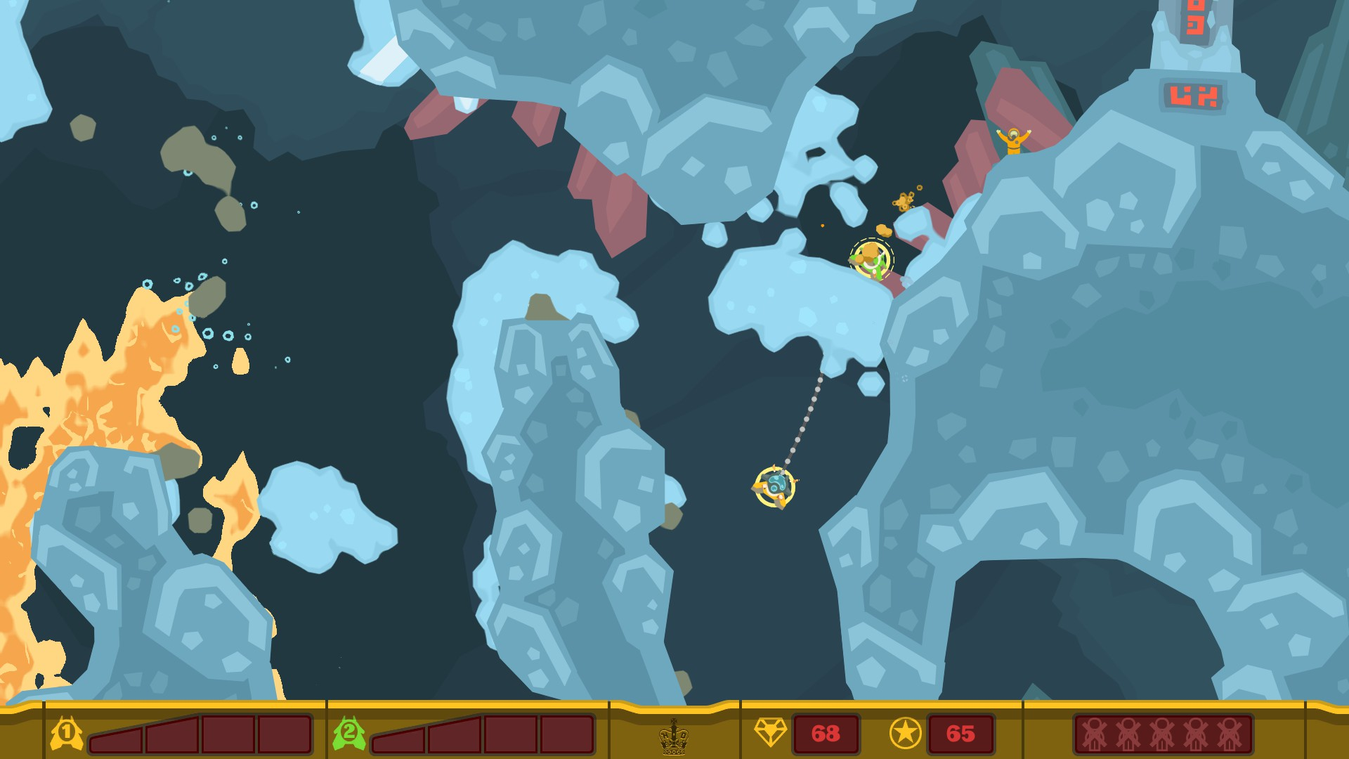 PixelJunk Shooter [Steam\RegionFree\Key] + Подарок