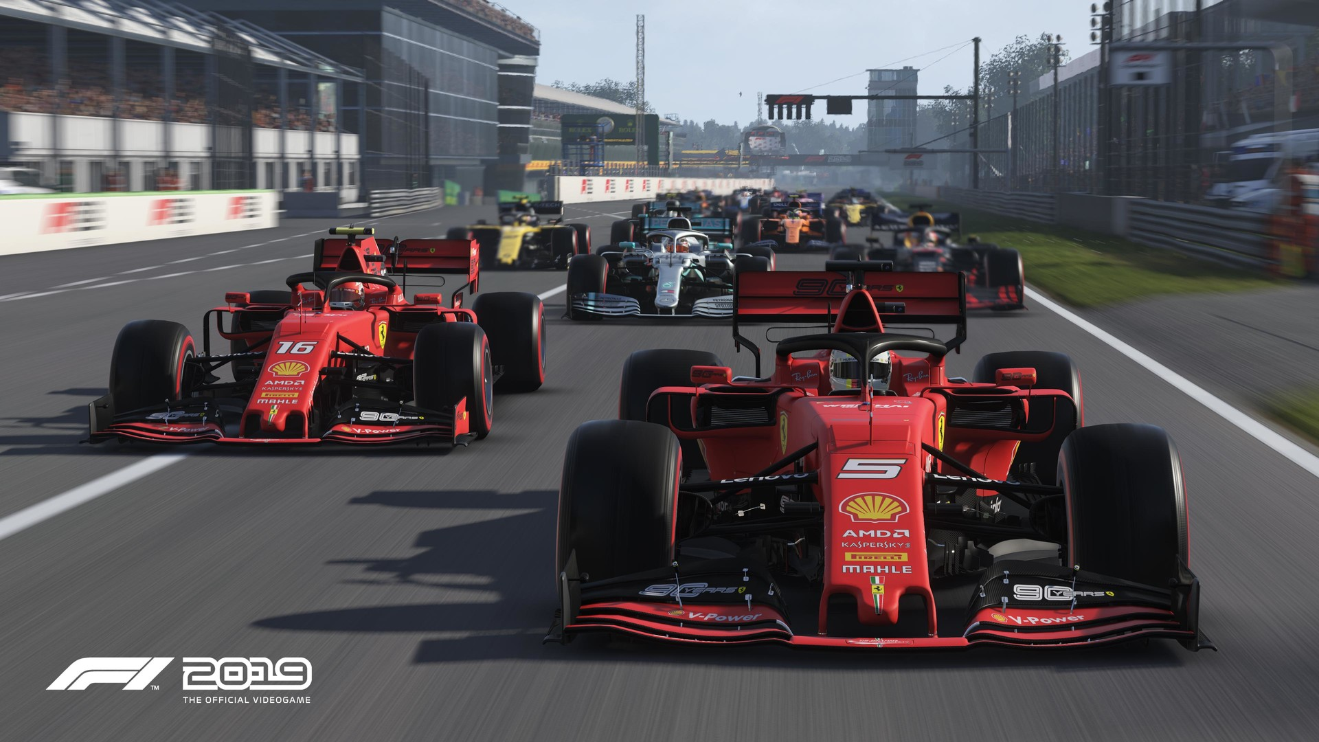 F1 2019 Anniversary Edition [Steam\RegionFree\Key]