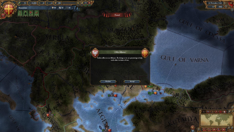 Europa Universalis IV: Pre-Order Pack DLC [Steam\ROW