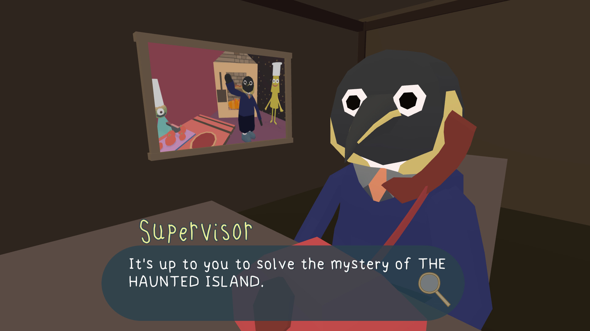 The Haunted Island, a Frog Detective Game [Steam\ROW]