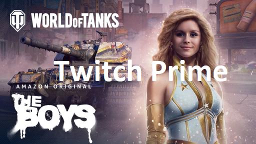 Twitch Prime/Prime Gaming World of Tanks: Starlight Kit