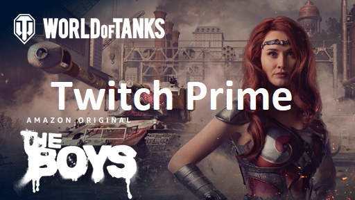 Twitch Prime Gaming World of Tanks: Queen Maeve Kit