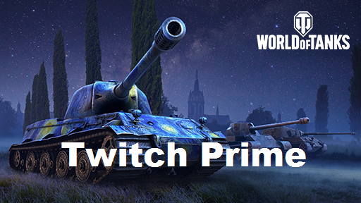 Twitch Prime World of Tanks: Package July