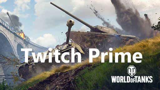 Twitch Prime World of Tanks: Package Starry Night+June
