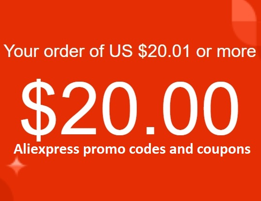 🚀 $20/20.01(30.04) Aliexpress coupon for Spain only