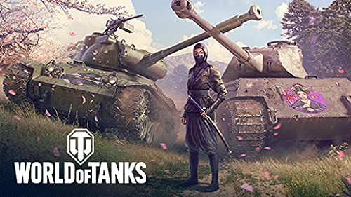 Фотография world of tanks: rock out + the silent huntress