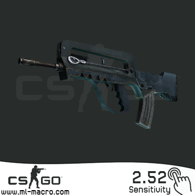 Macros for CS: GO on FAMAS | FAMAS 2.52 BLOODY / X7