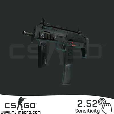 Macros for CS: GO on MP7 | MP7 2.52 BLOODY / X7