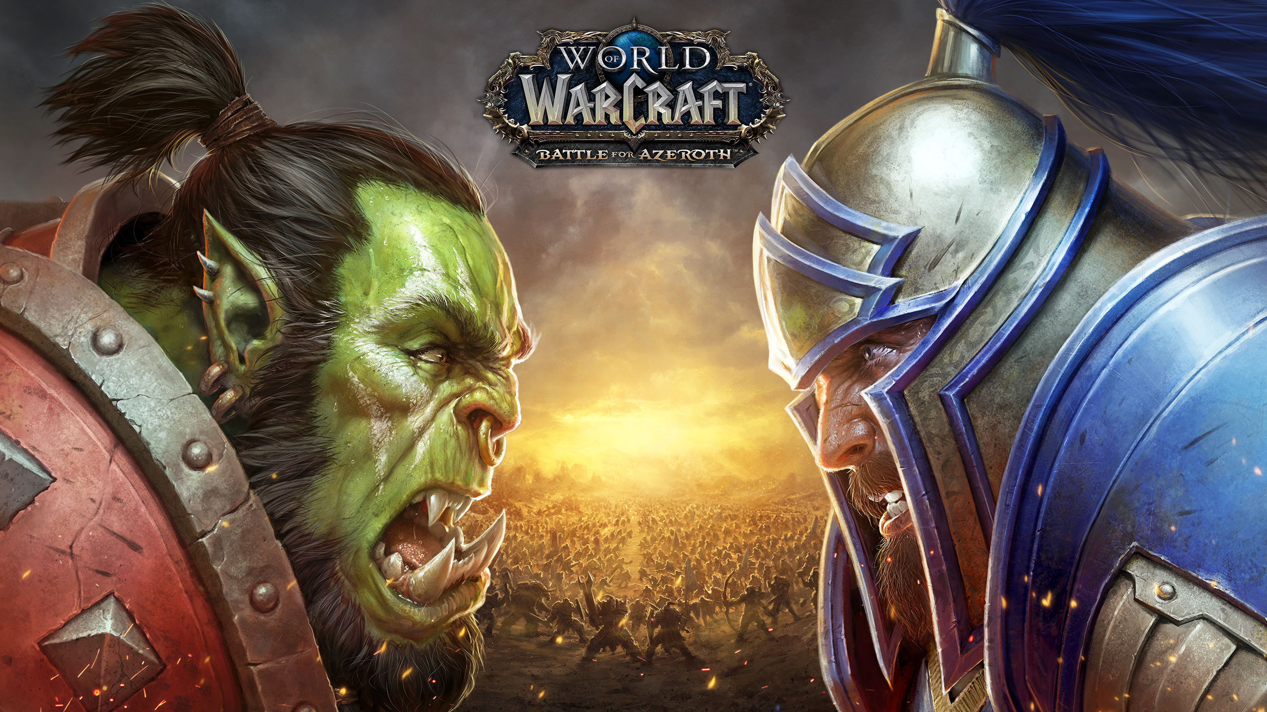 WOW: BATTLE FOR AZEROTH (US) + LVL 110 + GIFT