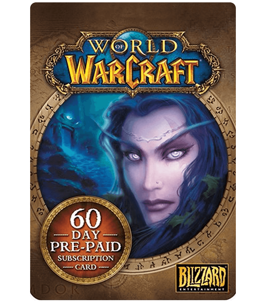 WORLD OF WARCRAFT - 60 DAYS TIMECARD + GIFT