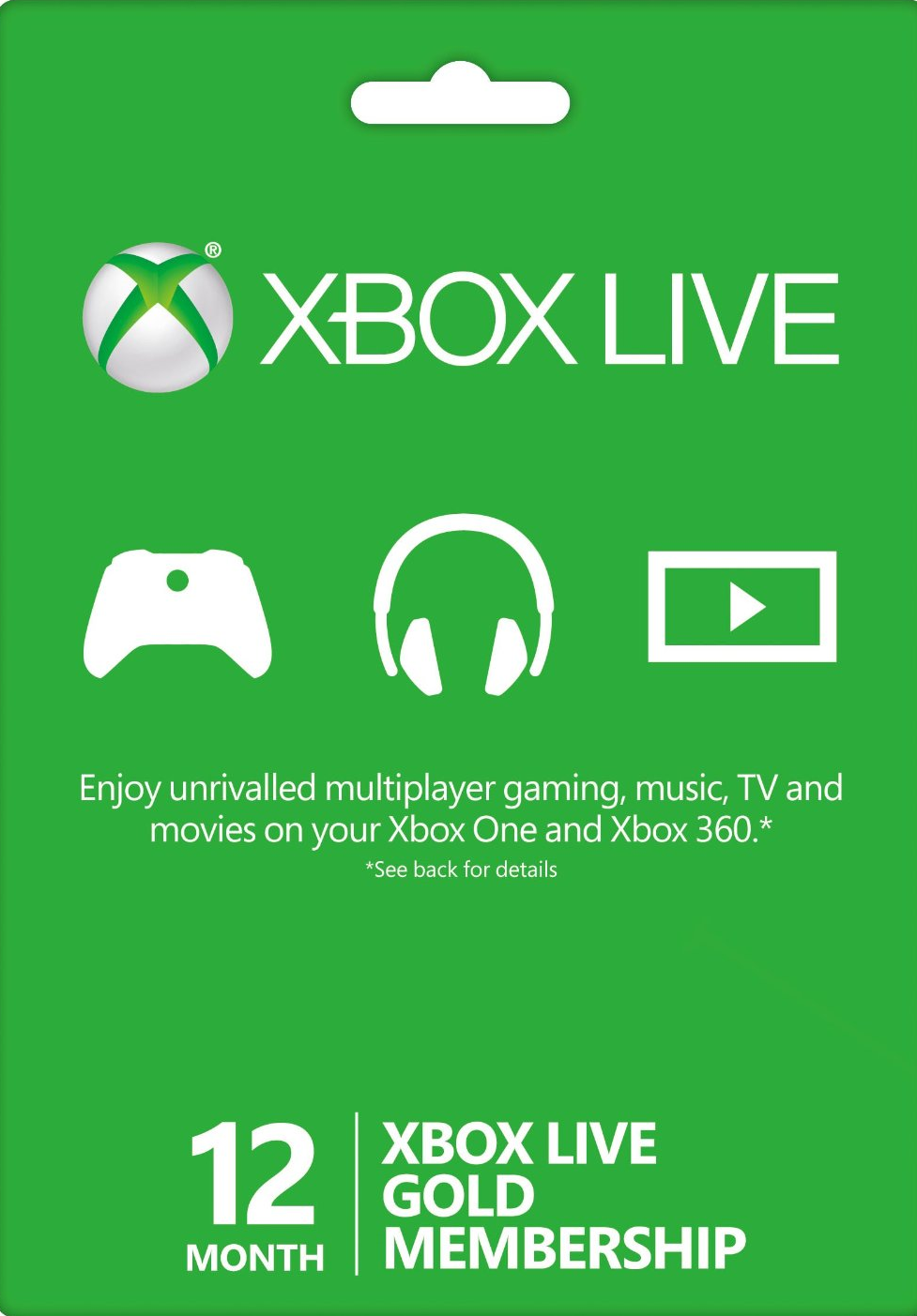 XBOX LIVE GOLD - 12+1 months (GLOBAL)  + GIFT