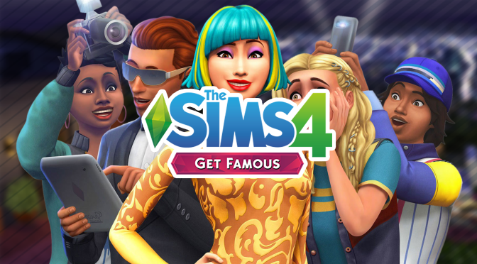 SIMS 4 GET FAMOUS (GLOBAL/MULTILANGUAGE) + GIFT