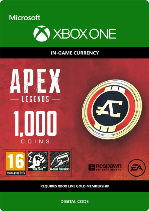 Apex Legends - 1000 Apex Coins (XBOX/GLOBAL) + GIFT